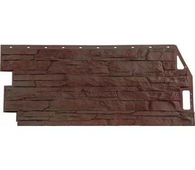 Фасадная панель FineBer Скала Жёлто-коричневый