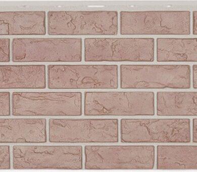 Фасадная панель Nailite Hand-Laid Brick Buff Blend