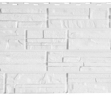 Фасайдинг Дачный Сланец Белый