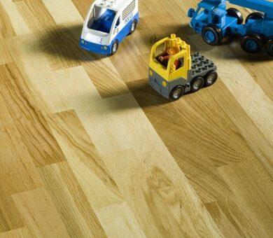 Паркетная доска Focus Floor Трехполосная Дуб Libeccio