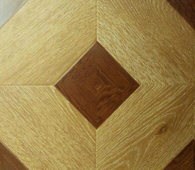Ламинат Hessen Floor Grand 1592-2 Дуб Светлый 33 класс, 12 мм