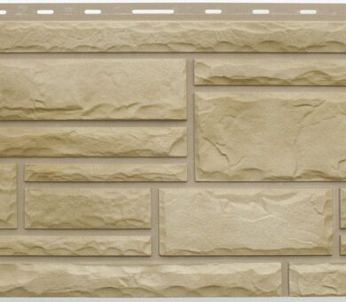 Известняк фасадная панель Альта-Профиль Камень Природный