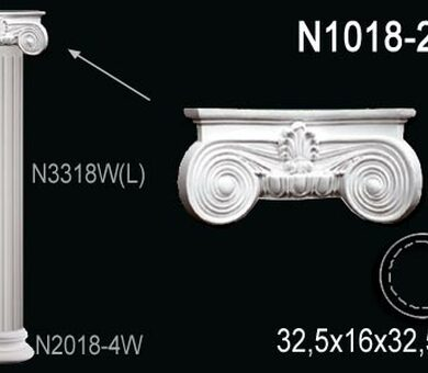 Капитель колонны Перфект N1018-2W