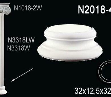 База колонны Перфект N2018-4W