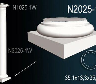 База колонны Перфект N2025-1W