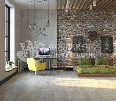 Кварц виниловый ламинат Wonderful Vinyl Floor Natural Relief DE1505 Снежный