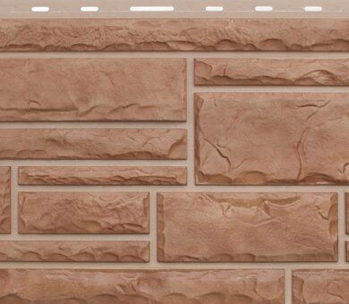 Кварцит фасадная панель Альта-Профиль Камень Природный