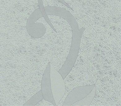 Ламинированная панель ПВХ Век Шелкография Серебристая