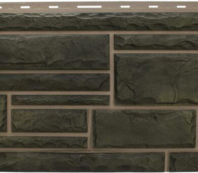 Малахит фасадная панель Альта-Профиль Камень Природный