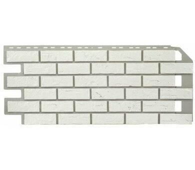 Nailite Hand-Laid Brick Colonial White