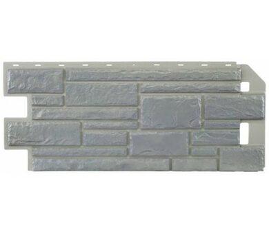Цокольный сайдинг Nailite Натуральный камень Серый