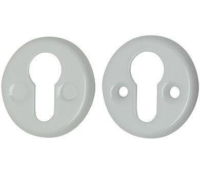 Накладка под цилиндр Bravo FIN 016-СL W Белый