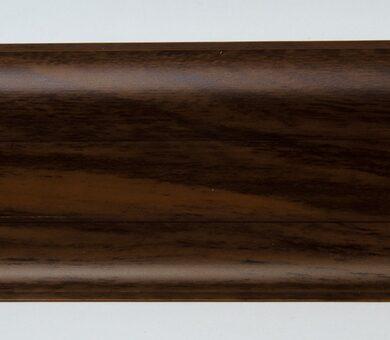 Напольный плинтус LinePlast Гранд LM017 Орех тёмный