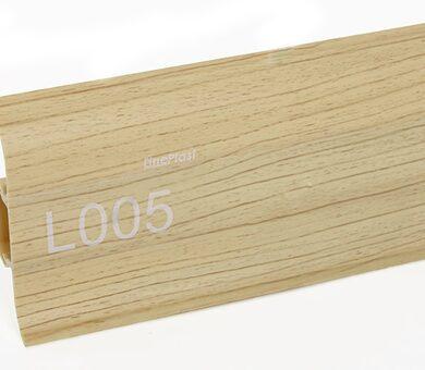 Напольный плинтус LinePlast L005 Клен
