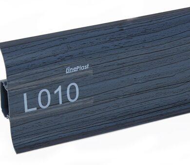 Напольный плинтус LinePlast L010 Клен голубой