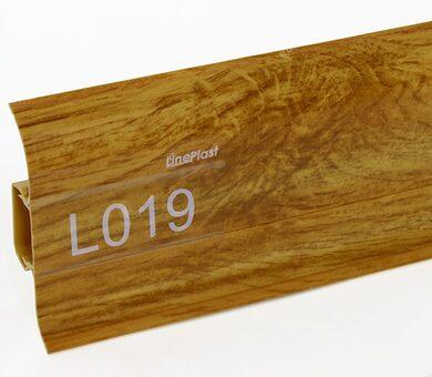 Напольный плинтус LinePlast L019 Дуб дартфорд