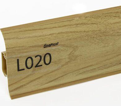 Напольный плинтус LinePlast L020 Вяз дерево