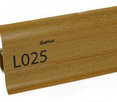 Плинтус LinePlast Стандарт L025 Бук тёмный