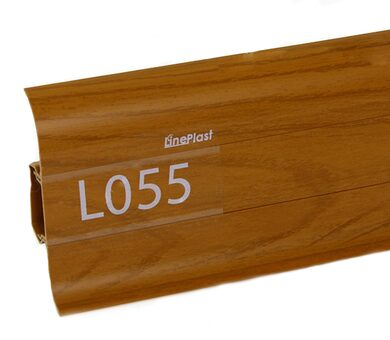 Напольный плинтус LinePlast Стандарт L055 Тасманское дерево