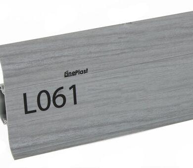 Плинтус LinePlast Стандарт L061 Серый дуб