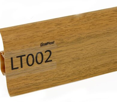 Напольный плинтус LinePlast Стандарт LT002 Пестрое дерево