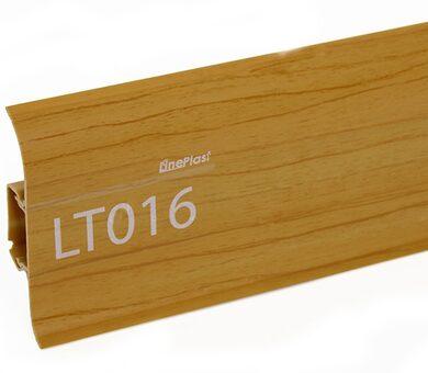 Напольный плинтус LinePlast LT016 Вишня обыкновенная