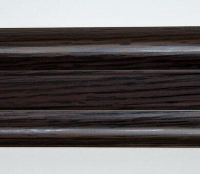 Плинтус LinePlast Макси LTM0011 Темный клен