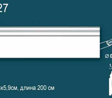 Напольный плинтус Перфект Plus P27