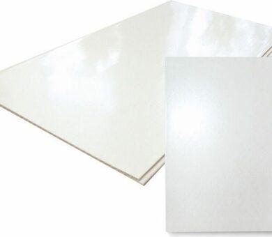 Панель ПВХ Век Белый глянец 3000х370