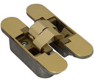 Петля скрытая с 3D регулировкой 521 37 Золото
