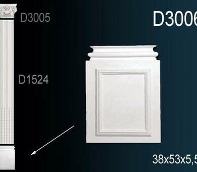 База пилястры Перфект D3006