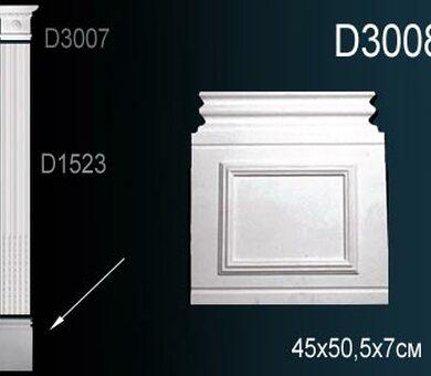 База пилястры Перфект D3008