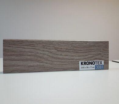 Плинтус Kronotex KTEX1 D3081 Дуб Эверест серебро