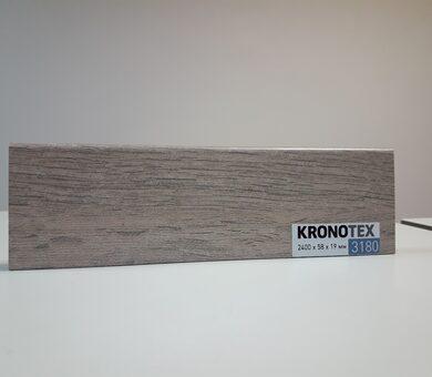 Плинтус Kronotex KTEX1 D3180 Дуб Рип натуральный