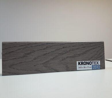 Плинтус Kronotex KTEX1 D3592 Дуб Атлас антрацит
