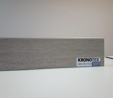 Плинтус Kronotex KTEX1 D3597 Дуб Таймлесс бежевый
