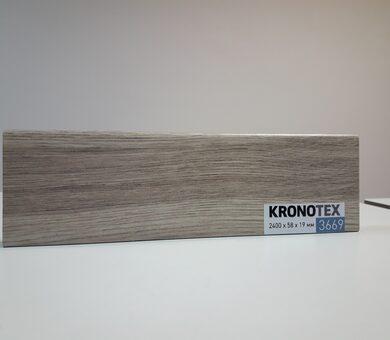 Плинтус Kronotex KTEX1 D3669 Дуб Макро бежевый