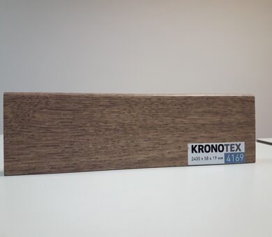 Плинтус Kronotex KTEX1 D4169 Дуб Престиж светлый