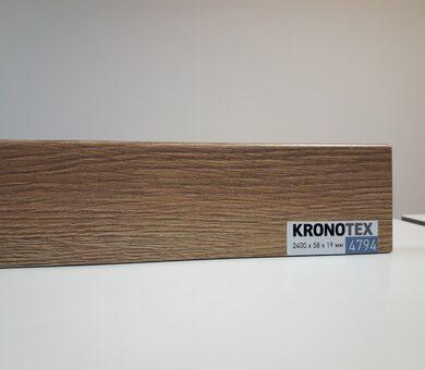 Плинтус Kronotex KTEX1 D4794 Дуб натуральный Макро