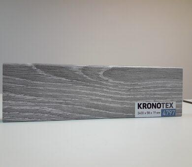 Плинтус Kronotex KTEX1 D4797 Дуб горный серебристый