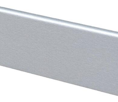 Плинтус МДФ GreFF 17x80 1006 Светлый металл