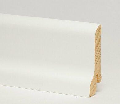 Плинтус Pedross 60x22x2500 Белый гладкий