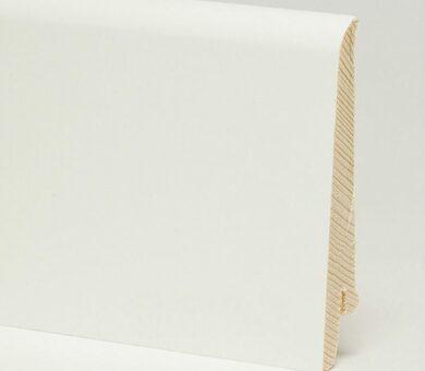 Плинтус Pedross 80x16x2500 мм Белый