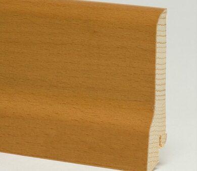 Плинтус Pedross 80x20x2500 мм Бук коричневый