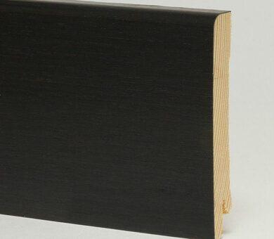 Плинтус Pedross 95x15x2500 мм Черный