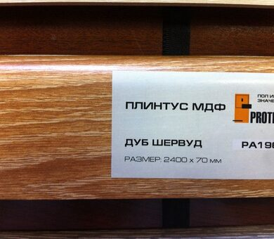 Плинтус МДФ Proteco PA196 Дуб Шервуд