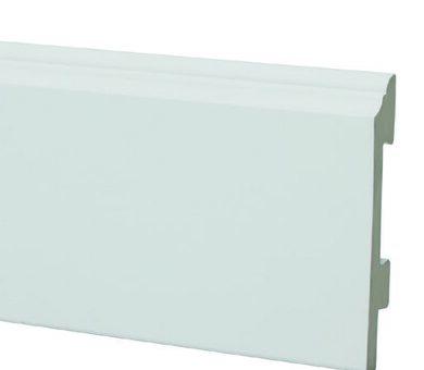 Плинтус Salag Sierra 100 Белый 01