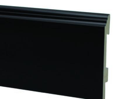 Плинтус Salag Sierra 100 Чёрный