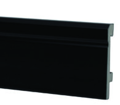 Плинтус Salag Sierra 80 Чёрный