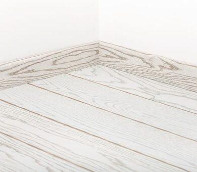 Плинтус Tarkett 80x20 Art White Moscow